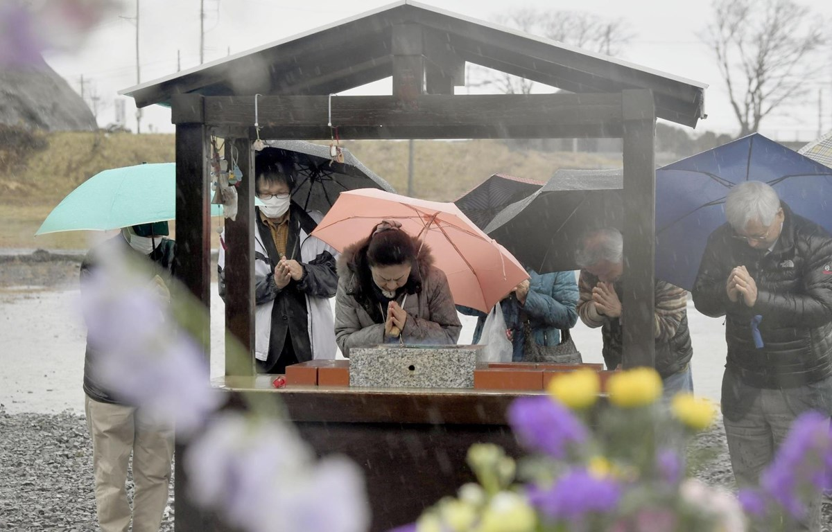 Japan marks 8th anniversary of tsunami, nuclear accident