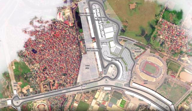 Work begins on F1 racetrack