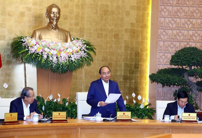 PM urges strong, substantive improvement of business climate