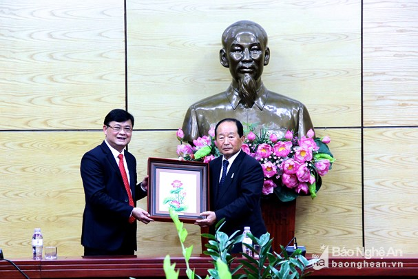 Nghe An province expands cooperation with Japanese prefecture