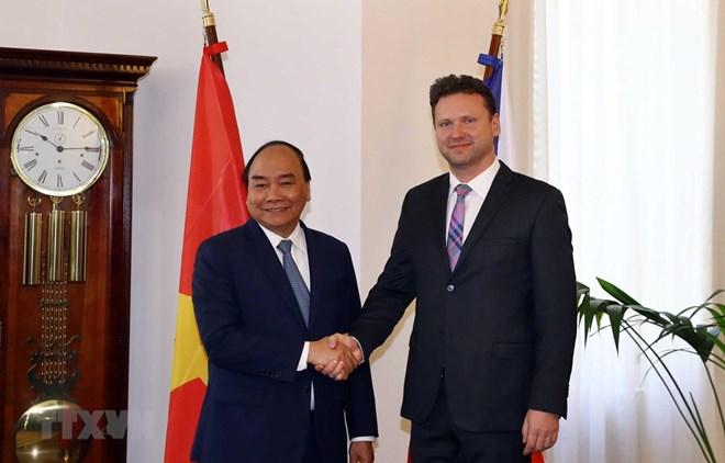 Vietnam treasures relations with Czech Republic: PM