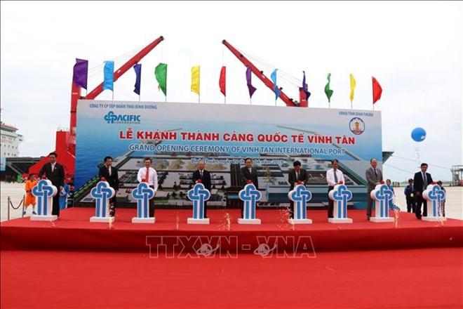 Vinh Tan international seaport inaugurated