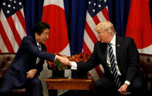 Japanese PM to visit Donald Trump at White House