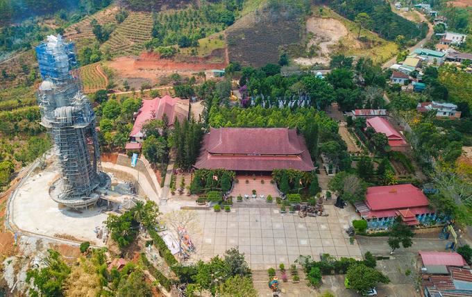 Linh An pagoda in Da Lat