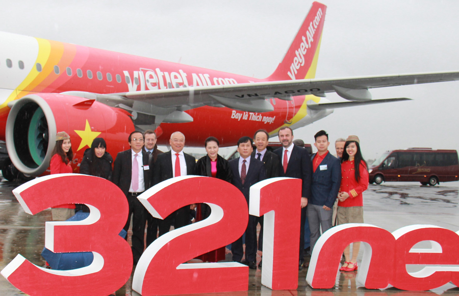 Vietjet Air receives 60th aircraft from Airbus