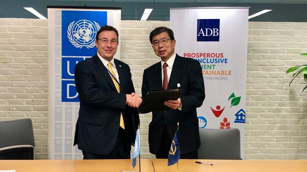 ADB, UNDP to accelerate progress towards sustainable development in Asia - Pacific