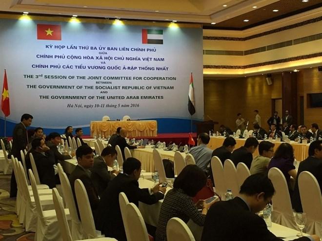 Vietnam-UAE intergovernmental meeting to discuss numerous issues