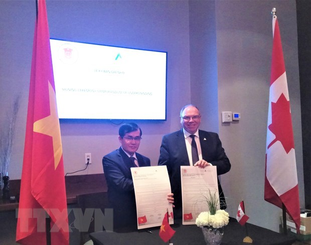 Vietnam, Canada intensify cooperation in operational audit