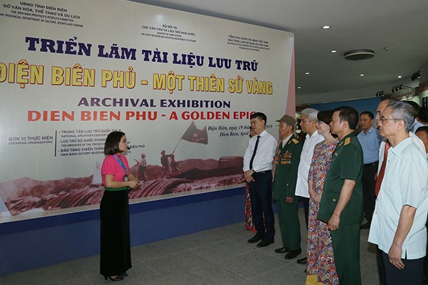 Photo exhibition on Dien Bien Phu on display