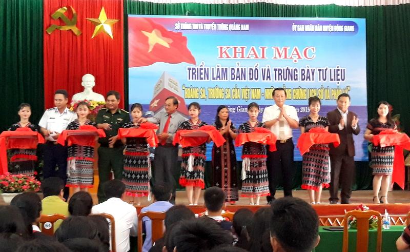 Hoang Sa, Truong Sa exhibition opens in Quang Nam