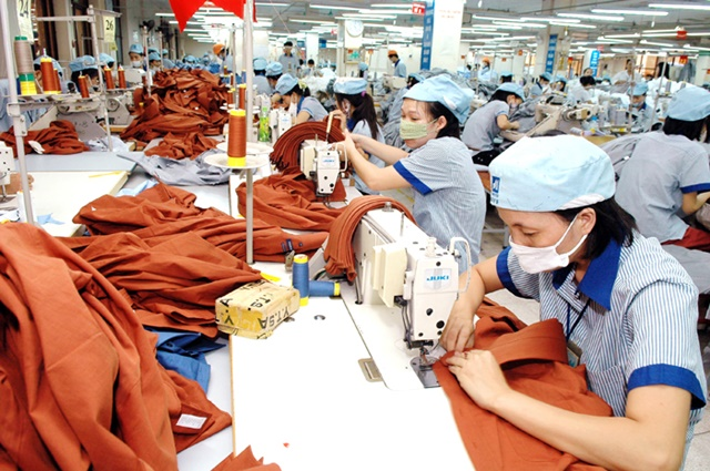 Textile and garment export value hits nearly USD8.7 billion