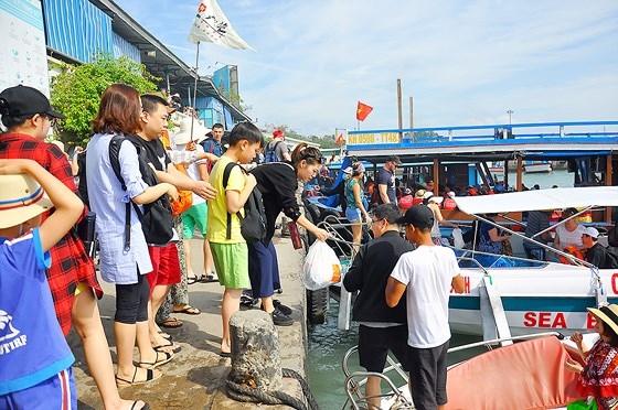 Khanh Hoa issues handbook on sea tourism