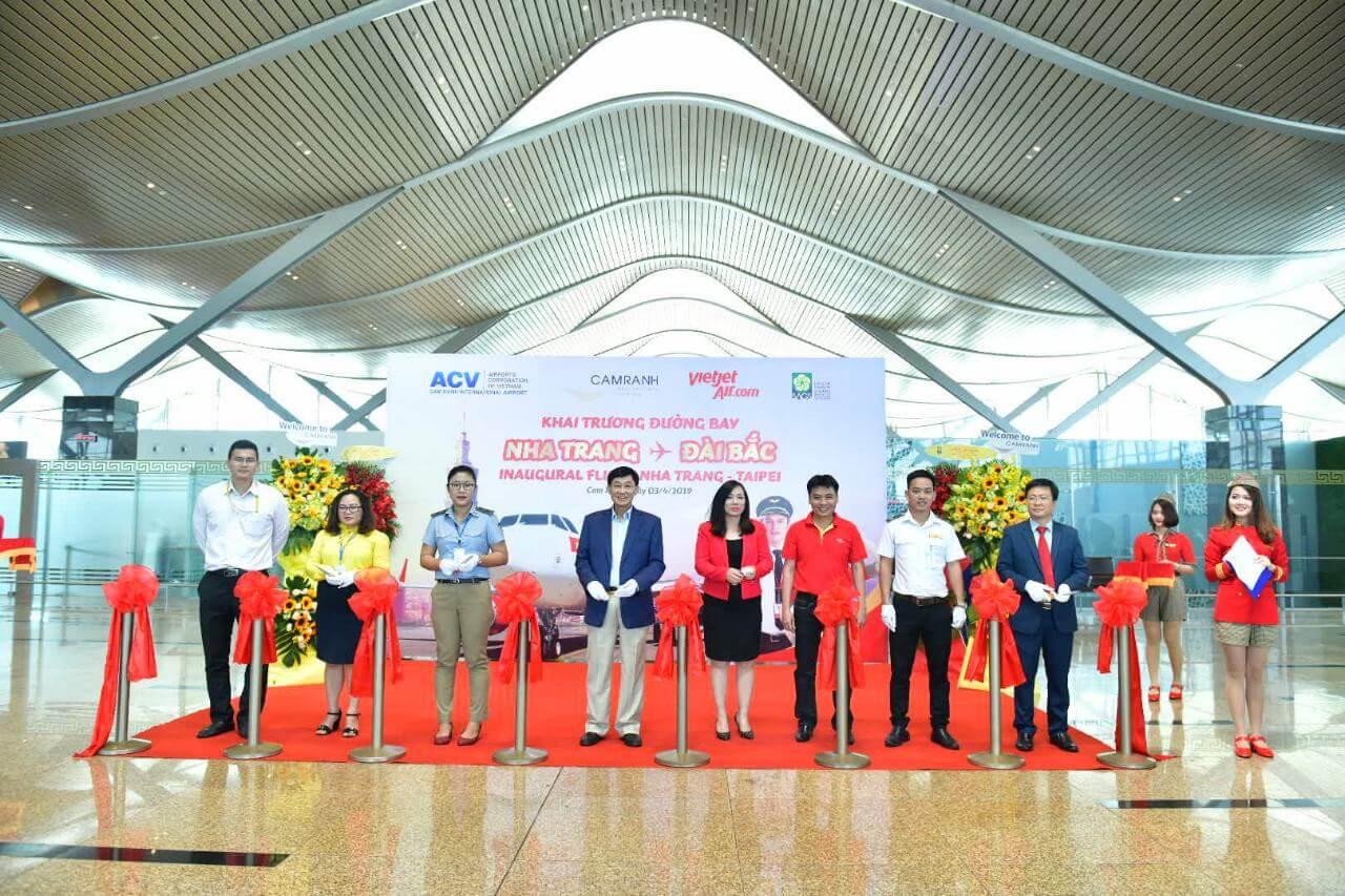 Nha Trang - Taipei air route inaugurated