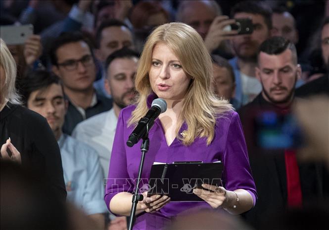 Zuzana Caputova becomes Slovakia