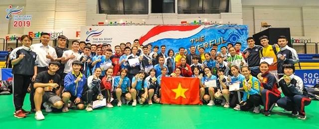 Vietnam dominates Southeast Asian karate champs