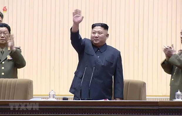 Kim Jong-un re-elected as Chairman of State Affairs Commission