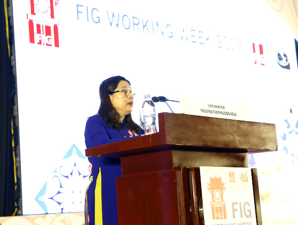 Nearly 800 experts and scientists attend FIG Working Week in Vietnam