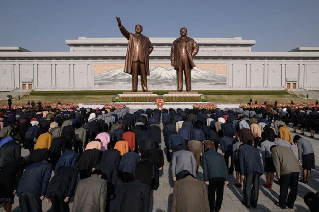 DPRK marks 107th anniversary of late Chairman Kim Il-Sung's birthday