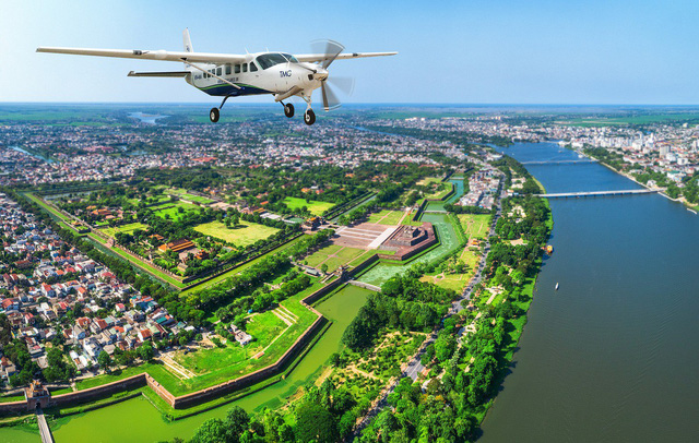 Air taxi flights between Da Nang and Hue to be launched