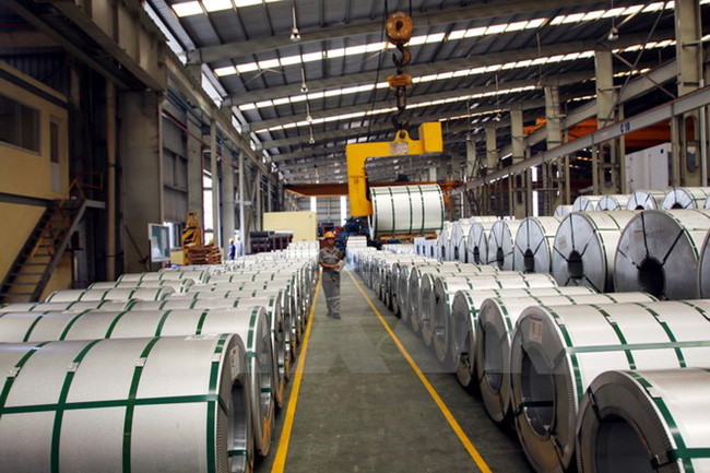 Iron and steel enjoys export growth