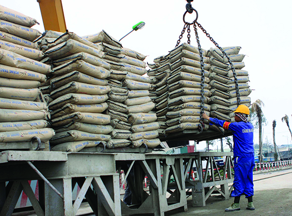 4 months: Over 35 million tons cement consumed