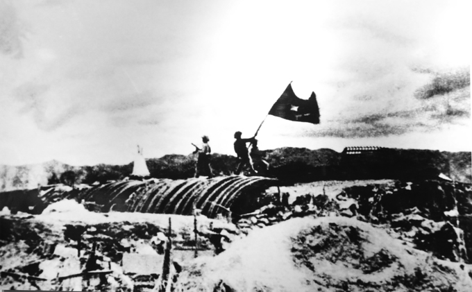 Photos on Dien Bien Phu victory