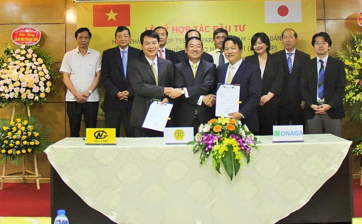 Establishment of Vietnam - Japan Techno Park promoted