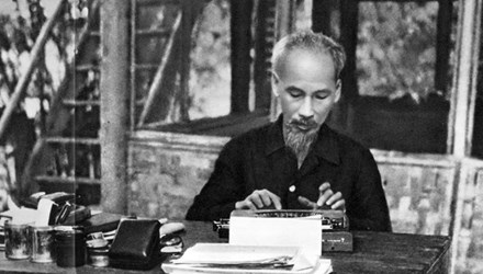 National precious objects on President Ho Chi Minh on show