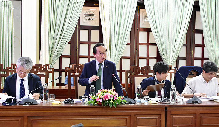JICA supports Thua Thien – Hue's green and sustainable urban development
