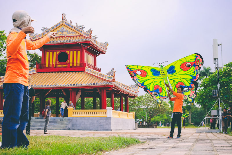 Hue traditional craft of kite making to be popularized
