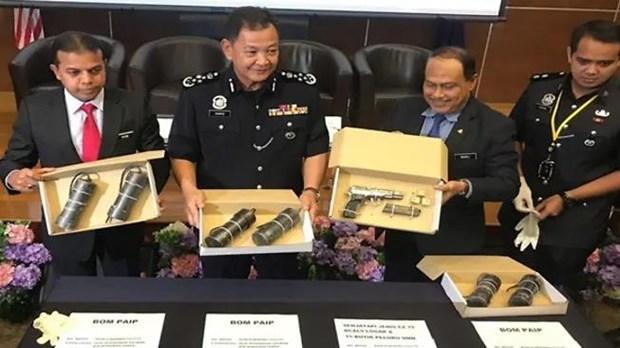 Malaysian police arrest four terror suspects