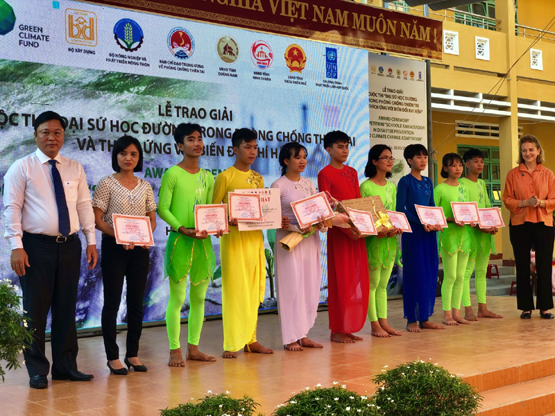 """""""Waking sleeping land after the disaste"""" awarded special prize of competition on disaster prevention"""