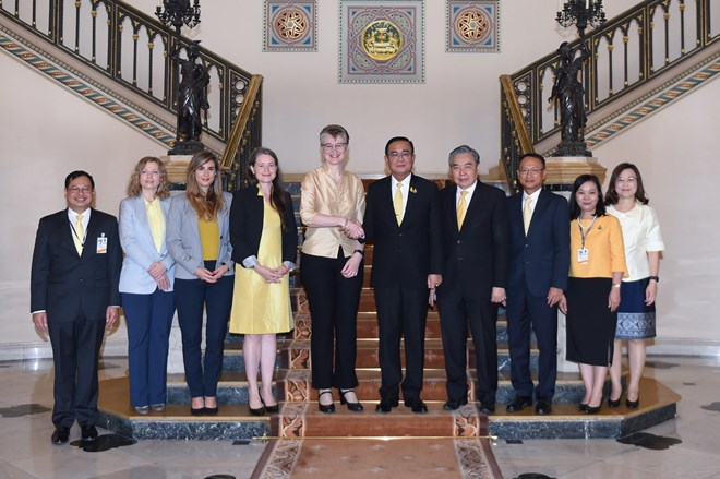 Thai PM meets with World Bank Research Team
