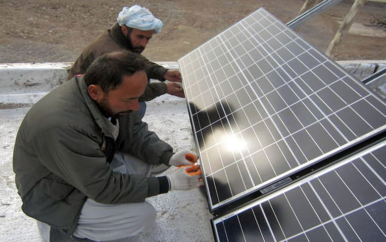 Afghanistan promotes the development of renewable energy