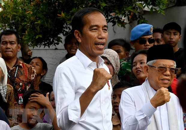 Indonesian election: Widodo makes victory speech