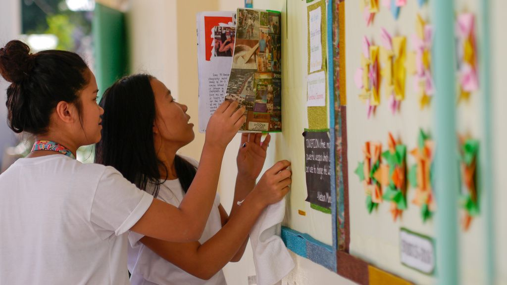 Philippines wants to achieve inclusive growth by improving access to high quality secondary education