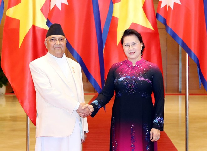NA Chairwoman meets with Nepalese Prime Minister