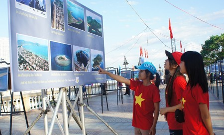Exhibition of Vietnam's culture heritage, sea and islands tourism in Nha Trang city