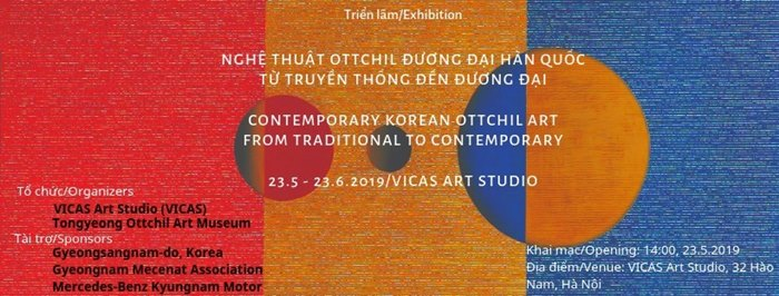 Korean Ottchil artworks to be displayed in Hanoi