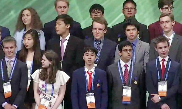 Vietnam wins third prize at international science contest in US
