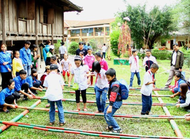 Special program for children at Museum of the Cultures of Vietnam