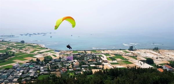 Ly Son island to host first paragliding festival