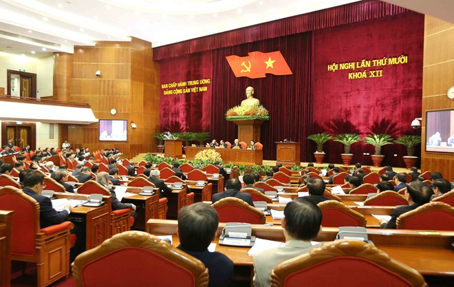 Party Central Committee's 10th plenum concludes