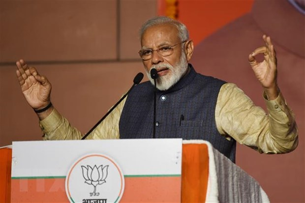 Narendra Modi appointed Prime Minister for a second term