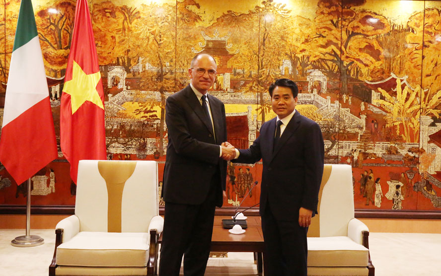 Hanoi attaches importance to cooperating with Italian businesses