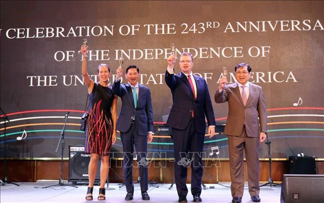 US's 243rd Independence Day marked in HCM city