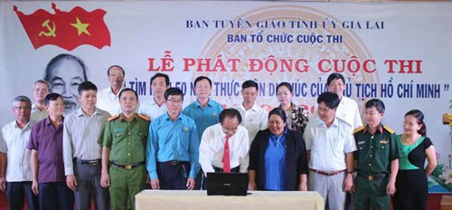 Gia Lai province launches contest on Uncle Ho's testament