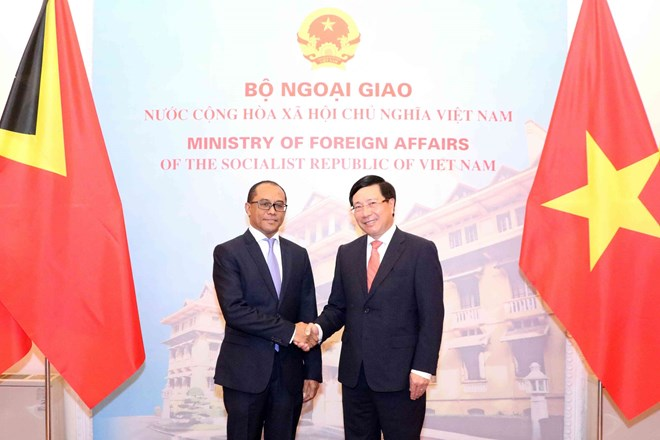 Vietnam, Timor-Leste agree to promote wide-ranging cooperation