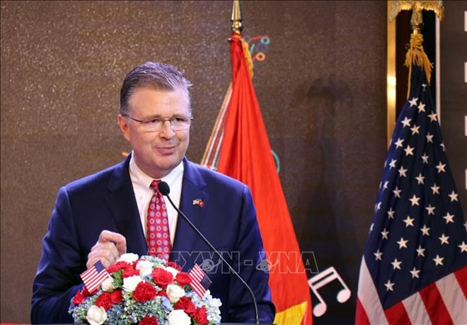 Hanoi ceremony marks US's 243rd Independence Day