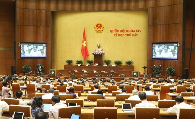 Three laws go through National Assembly on June 13th